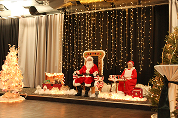 Christmas fundraiser held in Skybox Banquet Hall