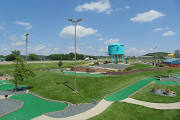 Mini Golf Course'