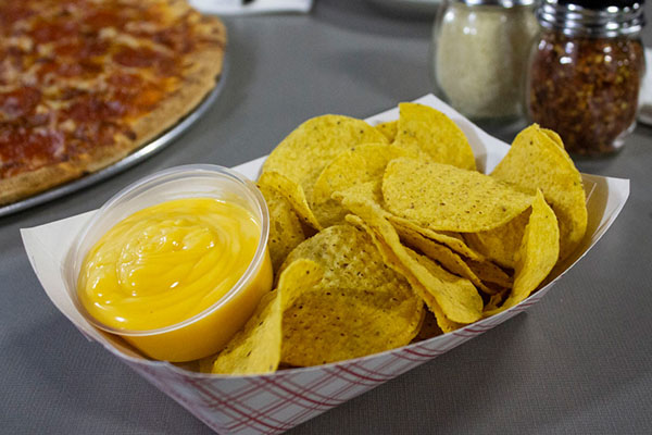 Nachos and Cheese