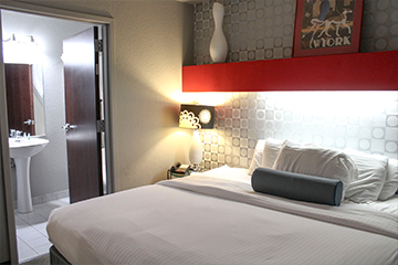Two bedroom suite king bed